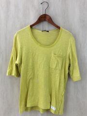 アンダーカバー/Tシャツ/2/コットン/YLW/ボーダー