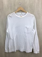 コモリ/長袖Tシャツ/2/コットン/WHT