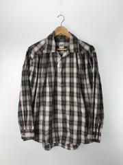 19AW/Painter Shirt Shadow Plaid/S/コットン/ボルドー/チェック/中古