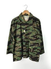 サウスツーウエストエイト/Hunting Shirt/HM878/S/コットン/グリーン/カモフラ/中古