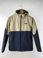 Boys 4-in-1 Everyday Jacket/マウンテンパーカー/XL/ナイロン/NVY/無地/中古