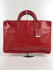 ブリーフケース/レザー/RED/9841/全体スレ有/ビジネスバッグ