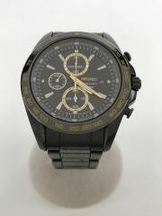 クロノグラフ 黒/7T92-0RK0/クォーツ腕時計/アナログ/BLK/コマ箱付属