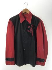 W.L.BUCK/OHS PEP CLUB/カバーオール/--/コットン/RED/コットンジャケット