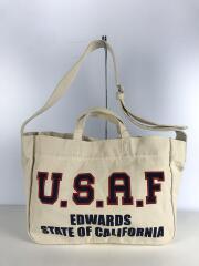 U.S.A.F/ショルダーバッグ/キャンバス/IVO/6428