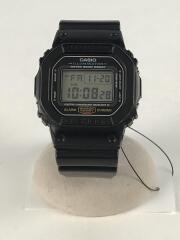 クォーツ腕時計/デジタル/ラバー/GRY/BLK/DW-5600E