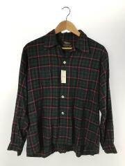 60s-/オープンカラーシャツ/16/--/マルチカラー/チェック