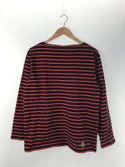 バスクシャツ/長袖Tシャツ/--/コットン/RED/ボーダー