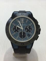 自動巻腕時計/アナログ/ラバー/NVY/BLK/DG42C3SMCVDCH/ディアゴノマグネシウム