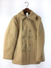 ピーコート/36/--/BEG/us740n pea jacket/ベージュ/ショット/アメカジ