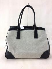THE GINZA/トートバッグ/--/GRY/無地/グレー