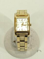 クォーツ腕時計/アナログ/ステンレス/GLD/MK-4278