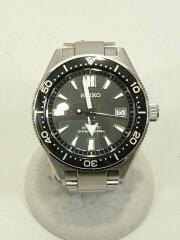 セイコー/自動巻腕時計/アナログ/ステンレス/ブラック/プロスペック/6R15-03W0