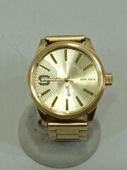 クォーツ腕時計/アナログ/ステンレス/ゴールド/DZ-1761/ラスプ