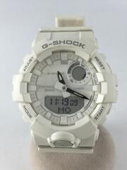 腕時計/アナログ/ラバー/WHT/G-SHOCK/5554/カシオ/ホワイト