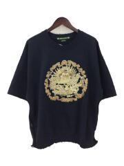 17SS/ORIENTAL H/S SWEAT/刺繍サイドジップスウェット/L/17SS-CST-001