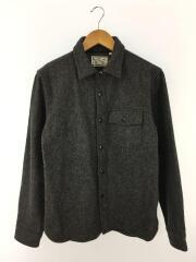 CPOシャツ/長袖シャツ/L/ウール/GRY