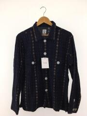 Smokey Shirt/EJ816/長袖シャツ/S/コットン/NVY/EJ816