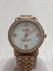 クォーツ腕時計/アナログ/ステンレス/WHT/CA.97.7.34.1162S/シェル文字盤