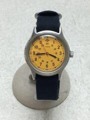 SURVIVAL WATCH/クォーツ腕時計/アナログ/YLW