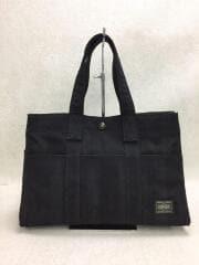 70周年/TANGO BLACK/丹後チリメン/TOTE BAG S/トートバッグ/638-07168/BL