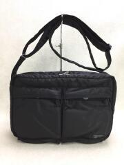 TANKER  SHOULDER BAG L/ショルダーバッグ/ナイロン/BLK