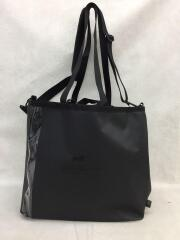 wdl./DRY UTILITY TOTE/トートバッグ/ナイロン/BLK