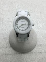 クォーツ腕時計/アナログ/セラミック/ステンレス