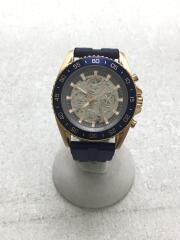 MK-9025/自動巻腕時計/アナログ/ラバー