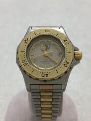 プロフェッショナル3000/934.208/クォーツ腕時計/アナログ/ステンレス/デイト/コンビ