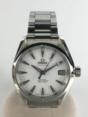 自動巻腕時計/シーマスター・アクアテラ150M/ダイヤモンド/アナログ/ステンレス/SLV/SLV