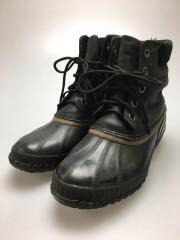 ブーツ/27cm/BLK/レザー/ブラック