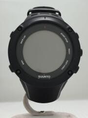 腕時計/デジタル/ラバー/BLK/AMBIT3PEAK
