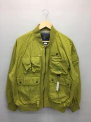 ジャケット/L/ポリエステル/GRN/グリーン/緑