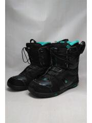 IVY salomon/スノーボードブーツ/23cm/シューレース/ブラック/IVY