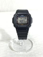 腕時計/デジタル/ラバー/BLK