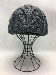 ベレー帽/--/ウール/GRY