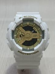 カシオ/CASIO/クォーツ腕時計/デジアナ/ラバー/WHT/白/G-SHOCK