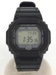 カシオ/ソーラー腕時計・G-SHOCK/デジタル/ブラック/GW-5600J-1JF/黒