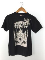 JERZEES/90s/usa製/Tシャツ/S/コットン/ブラック/無地