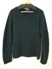 セーター(厚手)/48/ウール/グレー/09-10AW//   ボートネック ハイゲージ
