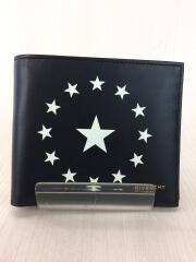 2つ折り財布/レザー/ブラック/ZES0157/BK06021772