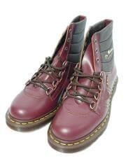 ARCHIVE KAMIN D RING BOOT OXBLOOD/箱付/ブーツ/UK7/BRD/レザー