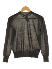 beautiful people/s/z sheer wool color scheme pullover/36/ウール