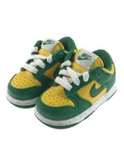 NIKE/キッズ靴/Dunk Low SP Brazil/10cm/スニーカー/CW7975-700