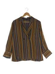 BEAUTY&YOUTH UNITED ARROWS/オルタナティブストライプシャツジャケット/FREE