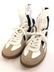 Replica Sock High/レプリカ/箱付/ハイカットスニーカー/39/WHT/S37WS0459