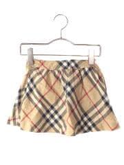 BURBERRY LONDON/スカート/100cm/コットン/BEG/ノバチェック/BX488-540-50