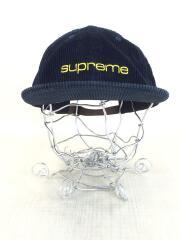 SUPREME/キャップ/--/コーデュロイ/NVY