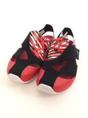 JORDAN FLARE PS/箱付/キッズ靴/20cm/サンダル/RED/CI7849-016